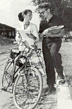 Pier Angeli and James Dean in East of Eden.