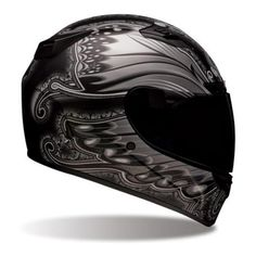Bell Vortex Unisex-Adult Full Face Street Helmet (Marker Black/Silver, Large) (D. Motorcycle Riding Gear, Motorcycle Helmet Design, Full Face Motorcycle Helmets, Full Face Helmets, Bicycle Helmet, Riding Helmets, Bike Helmets, Helmet Head, Bell Helmet