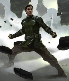 Bolin  by dustsplat.deviantart.com on @DeviantArt realistic avatar last airbender legend of korra fan art