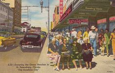 Old Florida Postcards - Bing Images Florida Sunshine, Florida City, Old Florida, Vintage Florida, Florida Usa, Sunshine State, Florida Travel, St Petersburg Florida, Moving To Florida