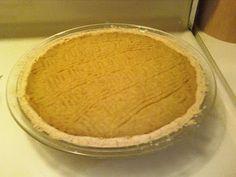 GF Vegan Pumpkin Pie