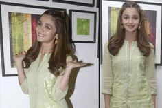 Are you sick of making the same hairstyle every day? Here we have different hairstyles of the adorable Alia Bhatt, the Queen of hairstyles. Bollywood Hairstyles, Indian Bridal Hairstyles, Chic Hairstyles, Beautiful Person, Most Beautiful, Different Hairstyles, Alia Bhatt, Latest Pics, Dimples