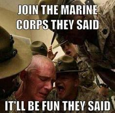 It's not for everyone we started with 70 troops we graduated 32 Semper Fi Marine Quotes, Military Quotes, Military Humor, Military Life, Usmc Quotes, Usmc Humor, Marine Corps Memes, Us Marine Corps, Once A Marine