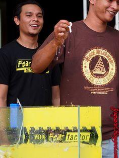 Fear Factor Malaysia #fearfactormy @fearfactormy I get it threeeeee!