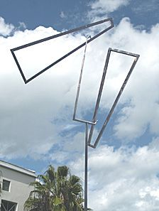 George Rickey's Kinetic sculptures move into Meijer Gardens Wind Sculptures, Sculpture Art, Garden Sculpture, Jean Arp, Alexander Calder, Kinetic Art, Outdoor Sculpture, Contemporary Sculpture, Land Art