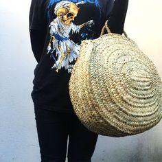#Panier Nini #basket #straw #strawmarketbasket #frenchmarketbasket