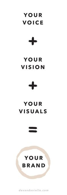 Make your brand your own.
