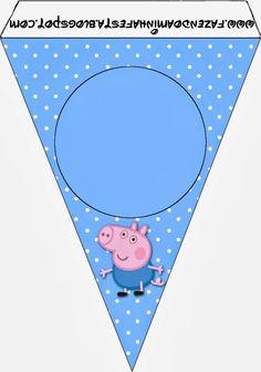 George Pig Free Party Printables and Images. Pig Birthday, Boy Birthday Parties, Birthday Party Decorations, Party Printables, Cumple George Pig, George Pig Party, Aniversario Peppa Pig, Cumple Peppa Pig, Threenager