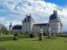 Imagen del Castillo de Valençay (Valle del Loira, Francia)