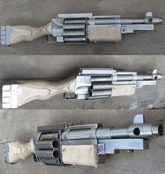 we need an airsoft version of this - Weapons - Militar Sci Fi Weapons, Weapon Concept Art, Fantasy Weapons, Weapons Guns, Guns And Ammo, Zombie Weapons, Airsoft, Homemade Weapons, Custom Guns