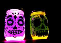 Alumbra con estas linternas para atraer a los espíritus. | 15 Originales y divertidas ideas para este Día de Muertos