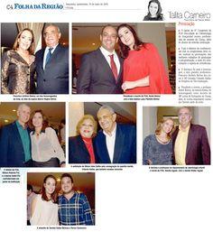 As personalidades que foram destaque no Congresso da FOA-UNESP 2016. Fonte: Folha da Região