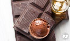 Receita: Sorvete de Chocolate & Whisky