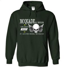MCQUADE RULE\S Team .Cheap Hoodie 39$ sales off 50% onl - #tee spring #tumblr sweatshirt. MORE INFO => https://www.sunfrog.com/Valentines/MCQUADE-RULES-Team-Cheap-Hoodie-39-sales-off-50-only-19-within-7-days-55964447-Guys.html?68278