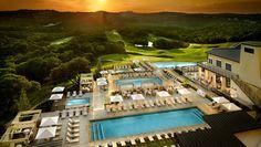Omni Barton Creek Resort & Spa | Resorts in Austin, TX Best Hotels In Austin, Austin Resorts, All Inclusive Family Resorts, Hotels And Resorts, Family Vacations, Family Travel, Best Spa, Rooftop Pool, Hotel Pool