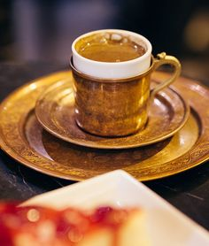 Turkish coffee at the Grand Bazaar in  Istanbul