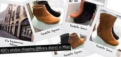 Ash sposa lo stile cow girl: questa settimana la vetrina del negozio Ash di Milano vede protagonisti i boots con frange modello Sioux e Squaw.  Vieni a trovarci in via Madonnina ang. P.zza del Carmine!  #ashitalia