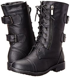 TOP Moda Women's Tan Military Lace Up Combat Boot – Enibeautyworld Lace Combat Boots, Military Combat Boots, Black Lace Up Boots, Buckle Boots, Lace Up Shoes, Me Too Shoes, Lace Booties, Black Ankle Booties, Front Lace