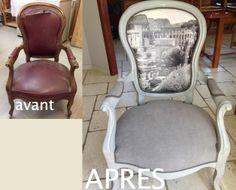toute la tapisserie a été refaite. le fauteuil entièrement démonté et restauré.