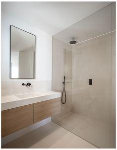 Minimalist Bathroom Design, Bathroom Design Luxury, Modern Bathroom Design, Minimalist Home, Modern Bathrooms, Minimalist Small Bathrooms, Minimal Bathroom, Studio Interior, Home Interior Design