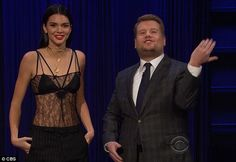 Just being honest: Kendall Jenner admitted that she doesn't like brother Rob Kardashian and Blac Chyna's baby name whilst on The Late Late Show with James Corden on Wednesday
