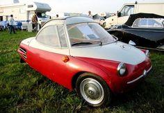 Schubert Prototyp 1958 350cc - German Homemade Design.