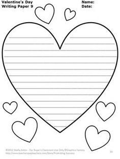 FREE Valentine's Day Writing Papers for Literacy Center Activities FREEBIE Valentine's Day Writing Paper: Here are 10 free pages of Valentine's Day writing paper. I hope you and your students enjoy this freebie! Thank you for all you do for kids! Valentines Day Activities, Holiday Activities, Valentine Day Crafts, Creative Activities, Valentine's Day Printables, School Holidays, In Kindergarten, Writing Papers, Kids Writing