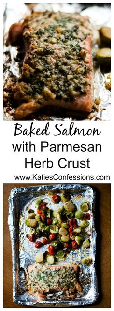 This baked salmon is a healthy, delicious and easy weeknight  meal that will have everyone asking for more - best of all only six ingredients!