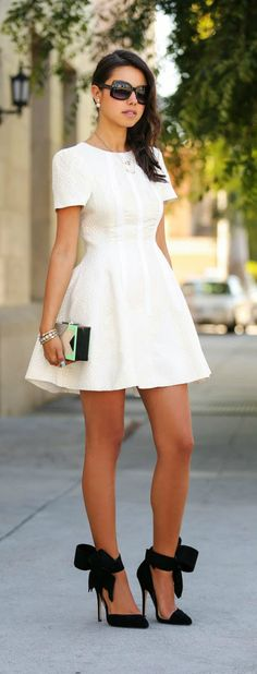 Everything about this outfit is just amazing !!!!PEARL OBSESSION & MISE EN DIOR EARRINGS by VivaLuxury