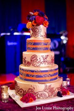 Beautiful cake for an Indian Wedding!