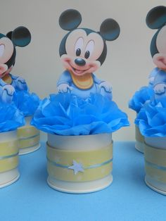 Image result for mickey mouse 1st birthday centerpiece