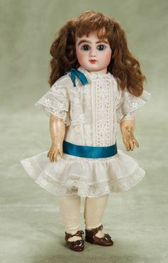 Other People's Lives: 210 Petite French Bisque Bebe Steiner,Figure A,with Original Signed Body