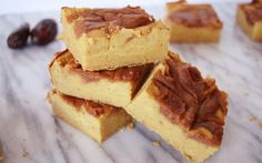 <p>These chickpea-based cinnamon roll blondies are so perfectly chewy and thick, delivering all the powerful flavor of a rich cinnamon roll. </p>