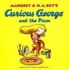 March 30, 2015. Curious George creates havoc in a pizza shop but redeems himself by making an unusual delivery.