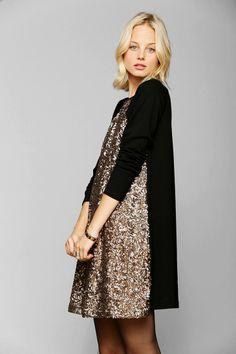 Somedays Lovin Corridor Knit Sequin Dress