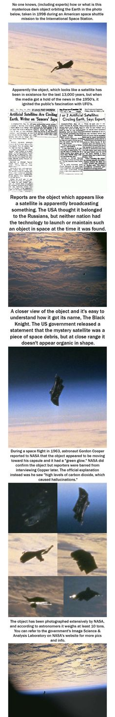 The Black Knight: Alien Satellite. Looks like a space whale from one side.