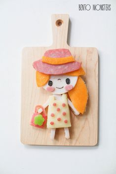 fun food.  my favorite of the paper doll outfits