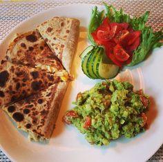 quesadillas med speltlompe