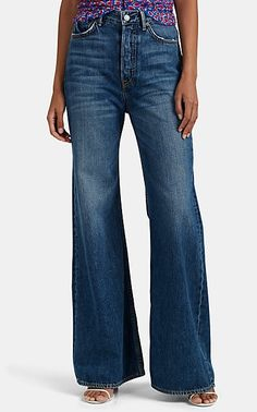 We Adore: The Casey Wide-Leg Jeans from GRLFRND at Barneys New York