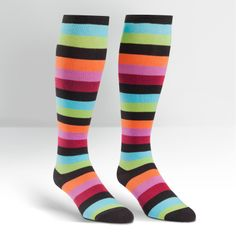 Bryce T, Wide Calf Women's Knee High Sock