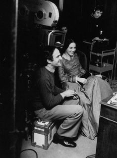 François Truffaut on set during the filming of The Story of Adele H. Isabelle Adjani, Love Film, Love Movie, Best Director, Film Director, Adele, Francois Truffaut, French New Wave, Character Bank