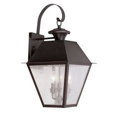 View the Livex Lighting 2168 Mansfield Large Outdoor Wall Sconce with 3 Lights at Build.com.
