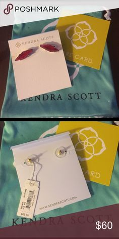 Kendra Scott Belinda New!! Comes with care bag and card! Kendra Scott Jewelry Earrings