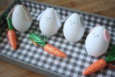 Manualidad fugaz: conejito de Pascua con un huevo | Fiestas y Cumples