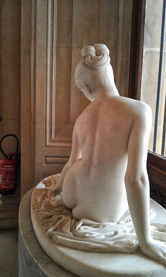 marble statue The Louvre