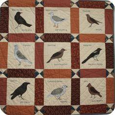 Modèle de couette grandes brunes British Birds