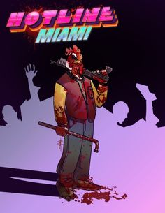 Hotline Miami Tribute by *TheHoyt on deviantART