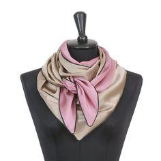 Dreieckschal Moitié-Carré Beige, Beautiful, Accessories, Fashion, Woman, Nice Asses, Moda, Fashion Styles, Fasion
