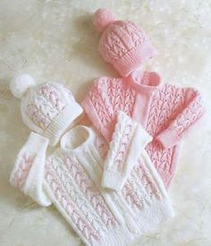 Absolutely Basic Baby Sweater - Free Knitting Pattern