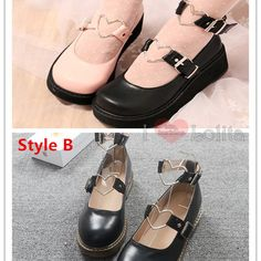 Home from lolita store Kawaii Shoes, Character Shoes, Harajuku, Dance Shoes, Colors, Heart, Accessories, Fashion, Dancing Shoes